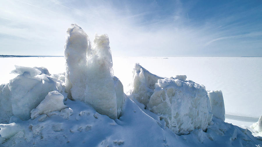 Ice Photograph - Spires of Ice by Christopher Behrend