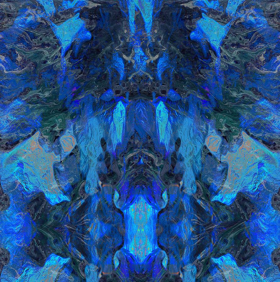 Spirit Blues Mixed Media