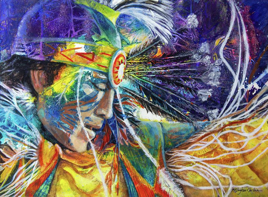 Spirit Dance by Patricia Allingham Carlson