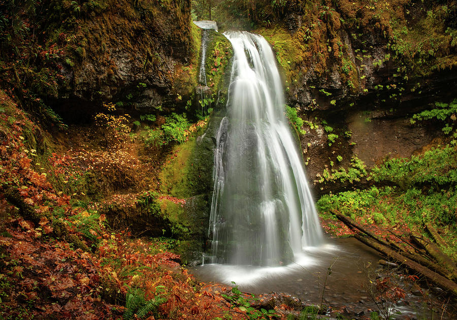 Spirit Falls Horizontal by Lara Ellis