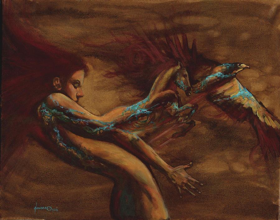 Spirit Guides Painting