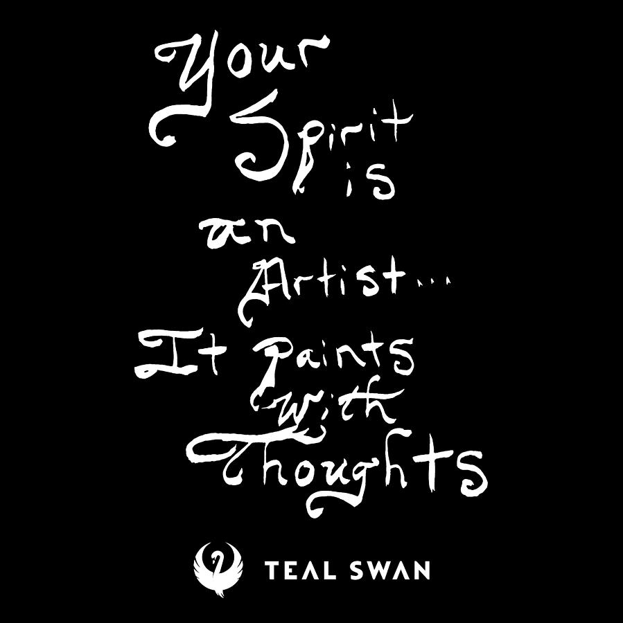 Spirit Is Quote by Teal Eye Print Store
