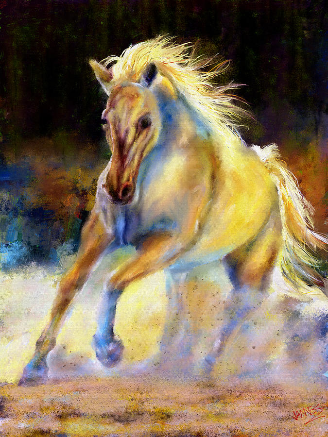 Horse Digital Art - Spirit by James Shepherd