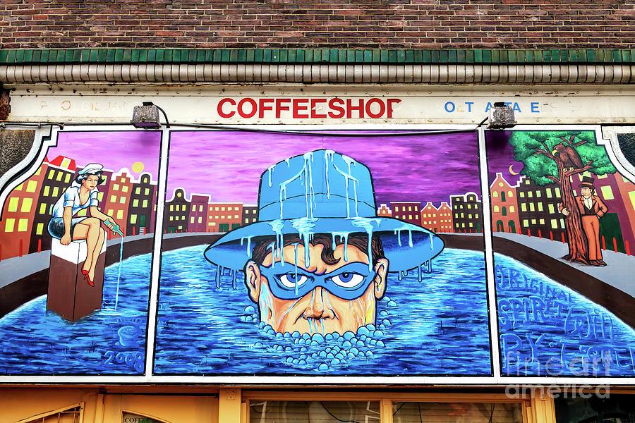 Spirit Mural in Amsterdam by John Rizzuto