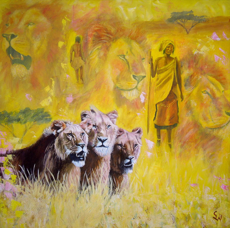 Spirit of Africa by Shirley Wellstead