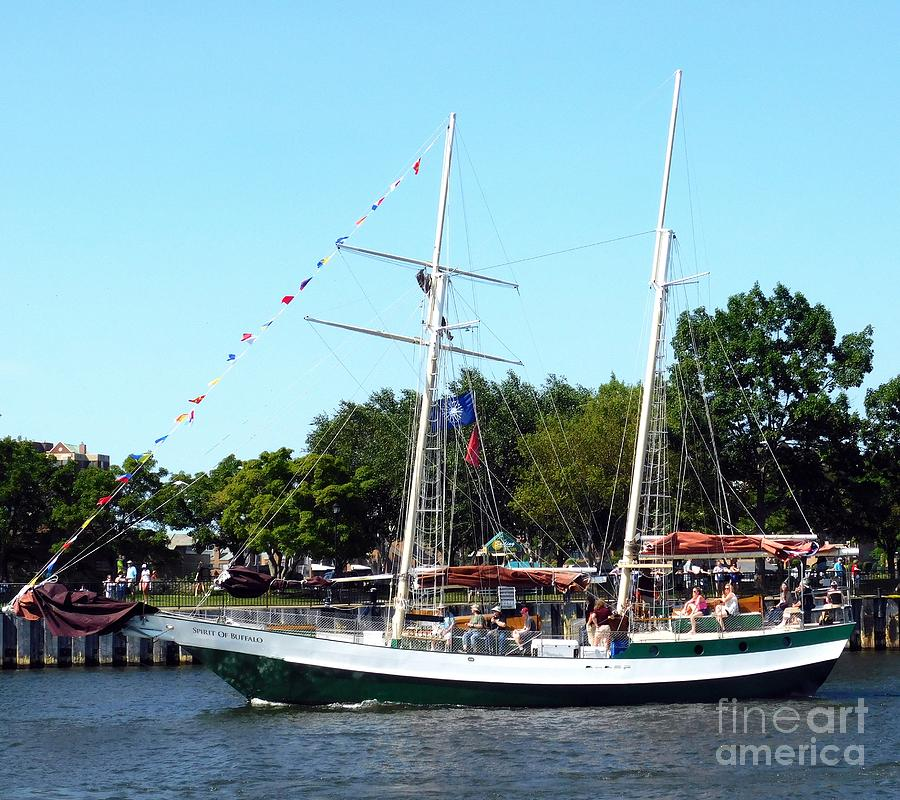 Spirit of Buffalo Tall Ship Buffalo NY 2019 by Rose Santuci-Sofranko