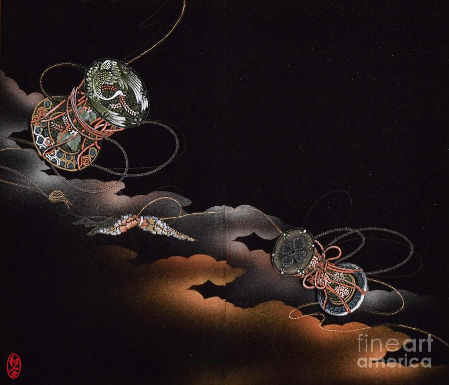 Spirit Of Japan H23 Digital Art by Miho Kanamori