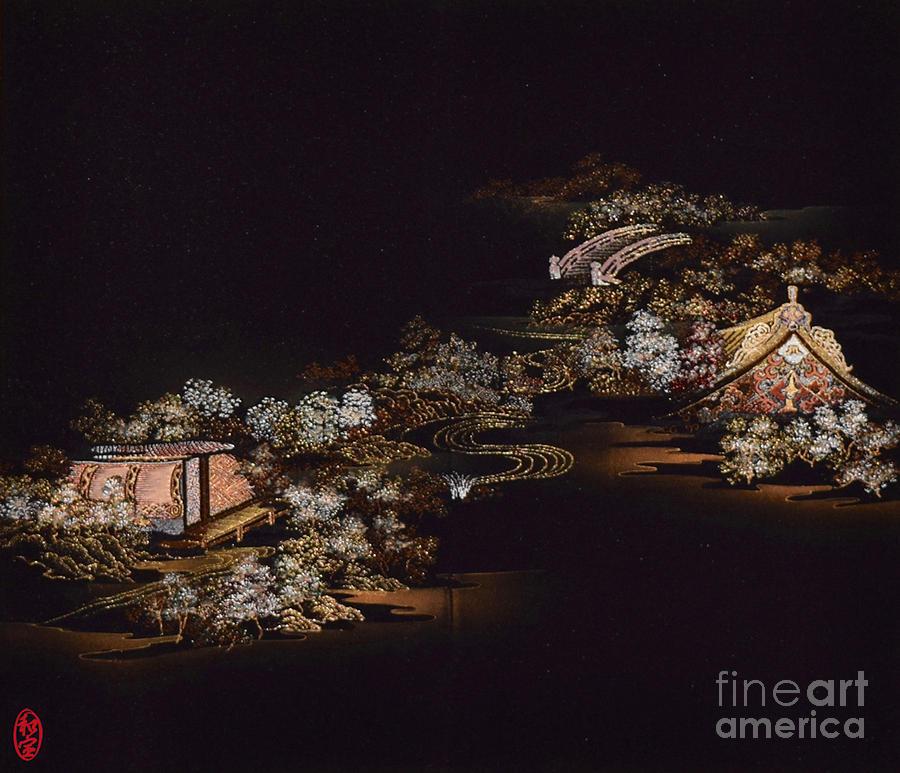 Spirit of Japan H25 Digital Art by Miho Kanamori