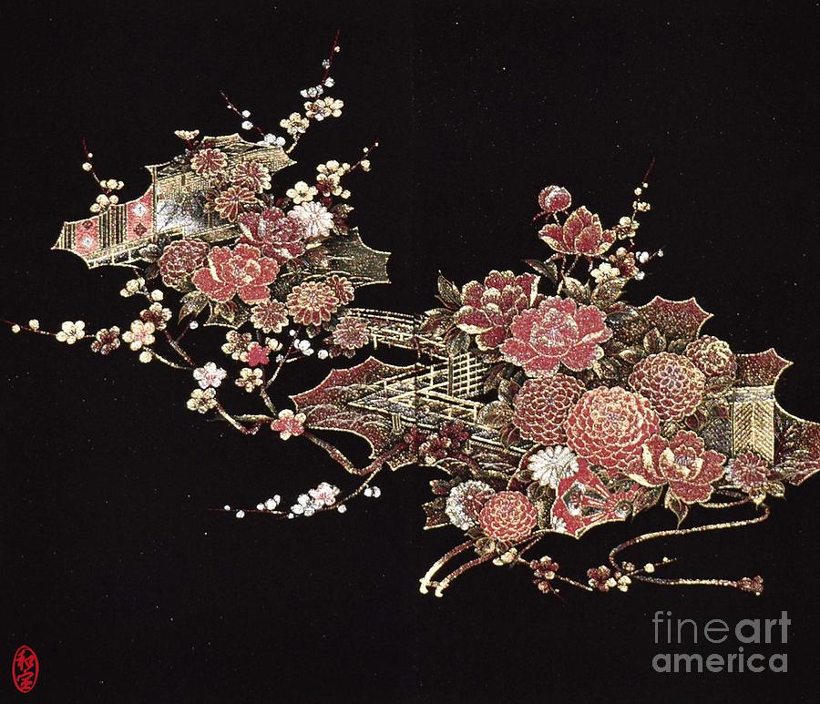 Spirit of Japan H26 Digital Art by Miho Kanamori