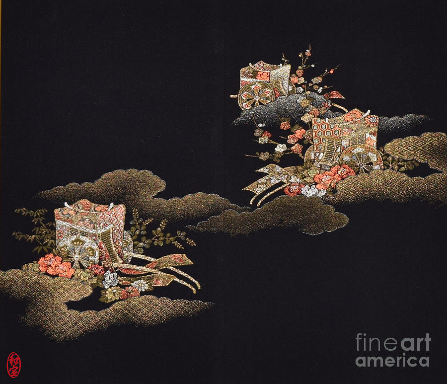 Spirit Of Japan H29 Digital Art by Miho Kanamori