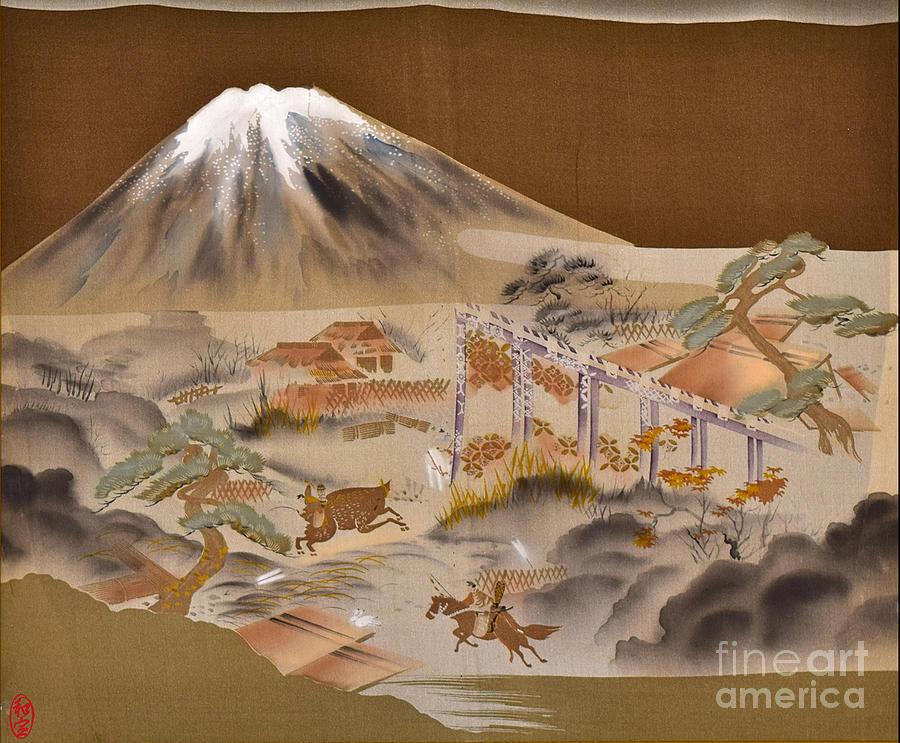 Spirit of Japan M4 Digital Art by Miho Kanamori