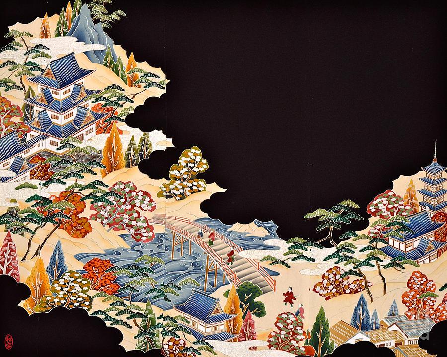 Spirit of Japan T11 Digital Art by Miho Kanamori