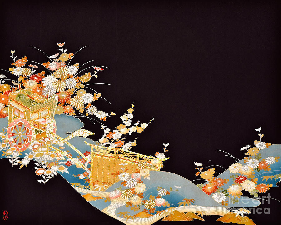 Spirit Of Japan T14 Digital Art by Miho Kanamori