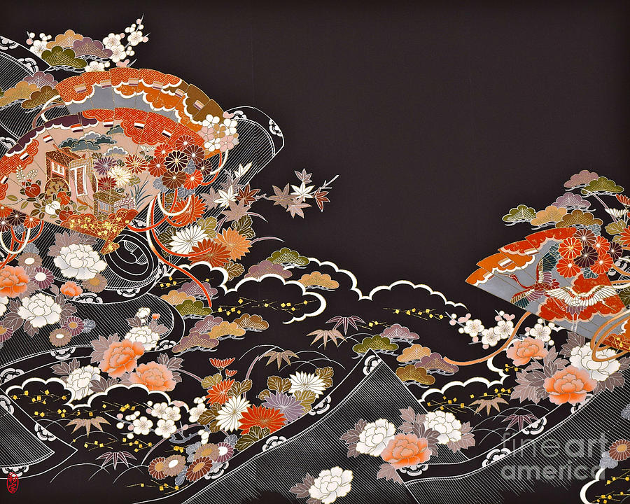Spirit of Japan T15 Digital Art by Miho Kanamori