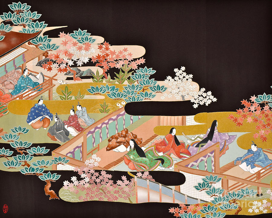 Spirit Of Japan T18 Digital Art by Miho Kanamori