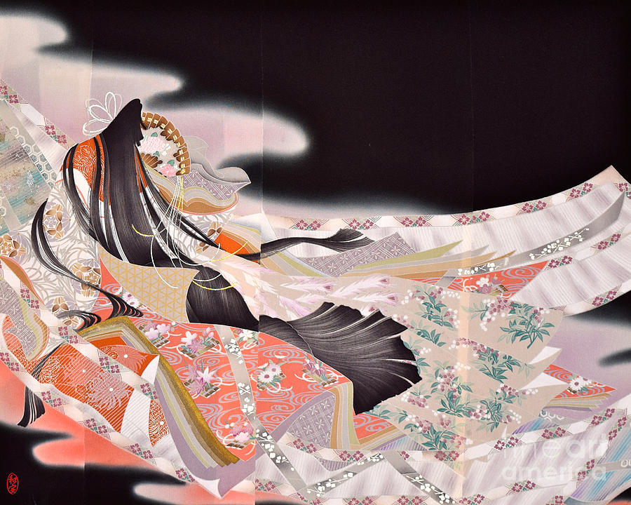 Spirit of Japan T22 Digital Art by Miho Kanamori
