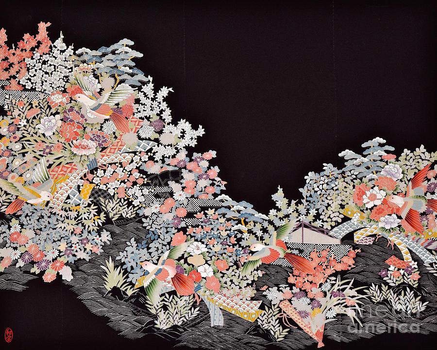 Spirit Of Japan T26 Digital Art by Miho Kanamori
