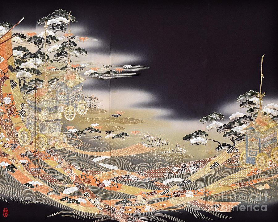 Spirit of Japan T29 Digital Art by Miho Kanamori