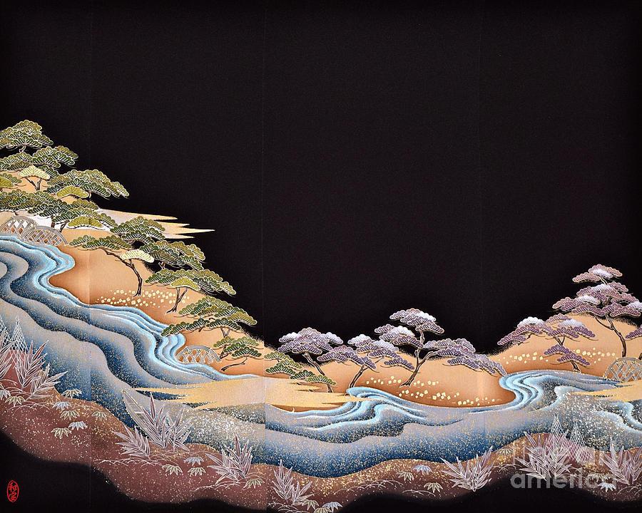 Spirit of Japan T38 Digital Art by Miho Kanamori