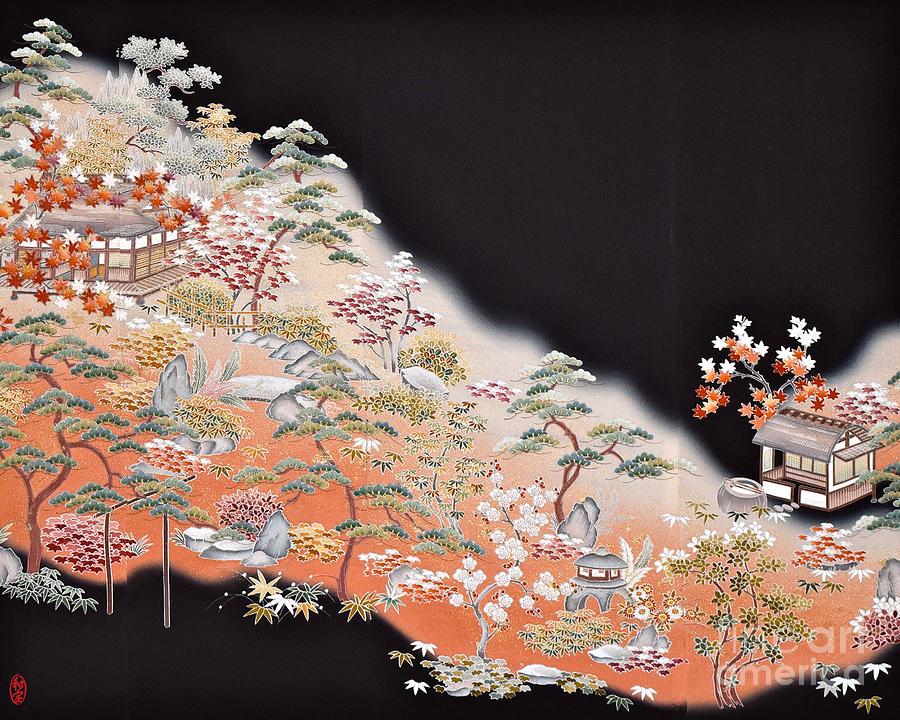 Spirit Of Japan T43 Digital Art by Miho Kanamori