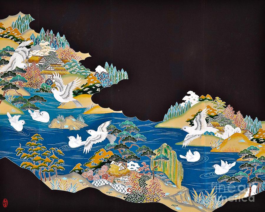 Spirit Of Japan T44 Digital Art by Miho Kanamori
