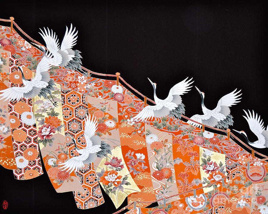 Spirit Of Japan T60 Digital Art by Miho Kanamori