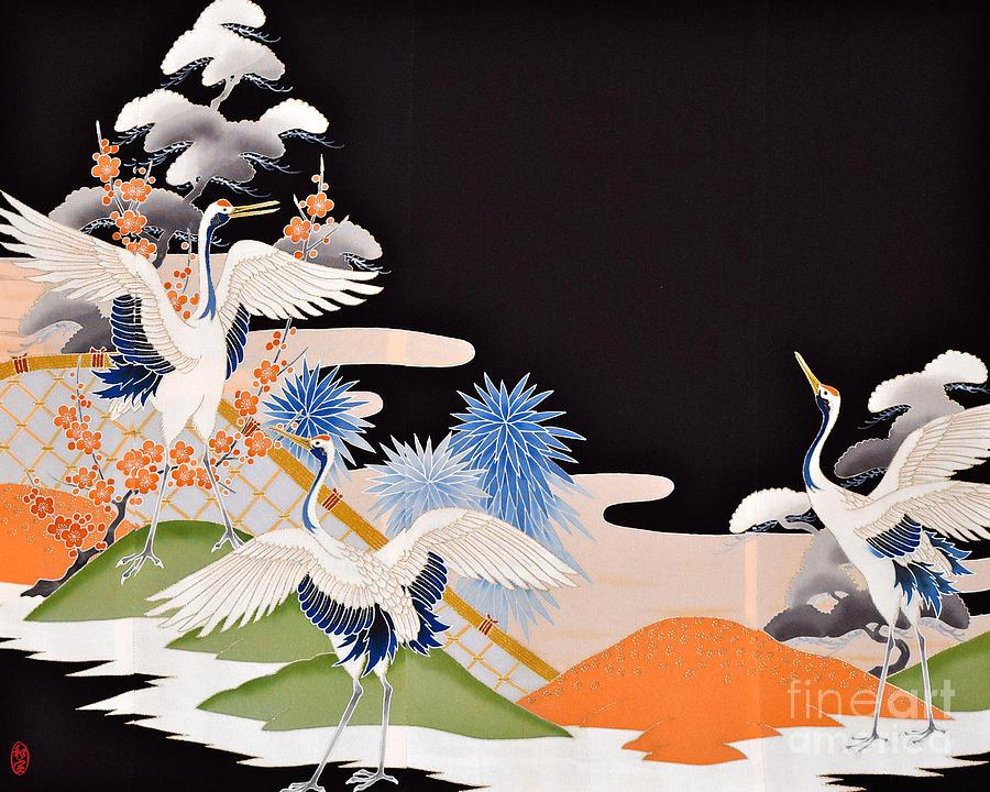 Spirit Of Japan T7 Digital Art by Miho Kanamori
