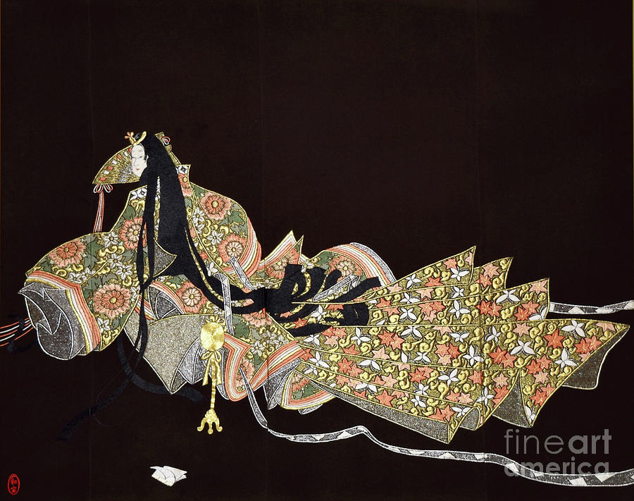 Spirit Of Japan T91 Tapestry - Textile by Miho Kanamori