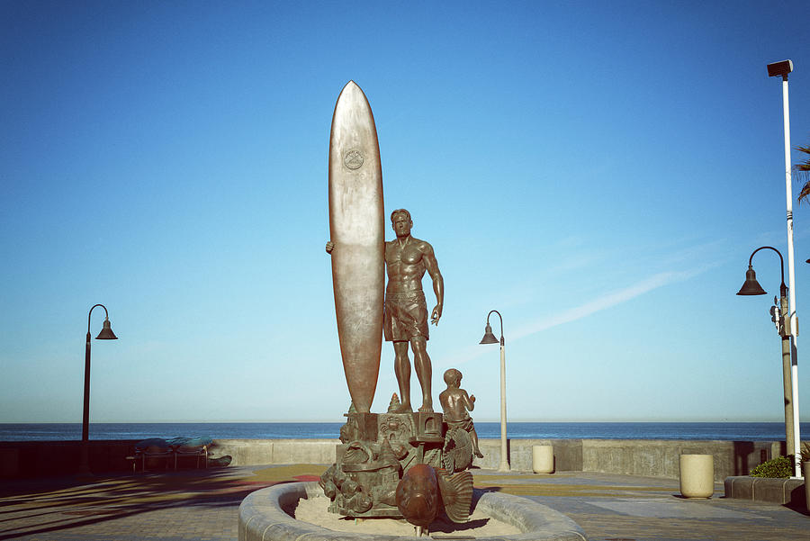 Spirit Of Surf Imperial Beach #1 by Joseph S Giacalone