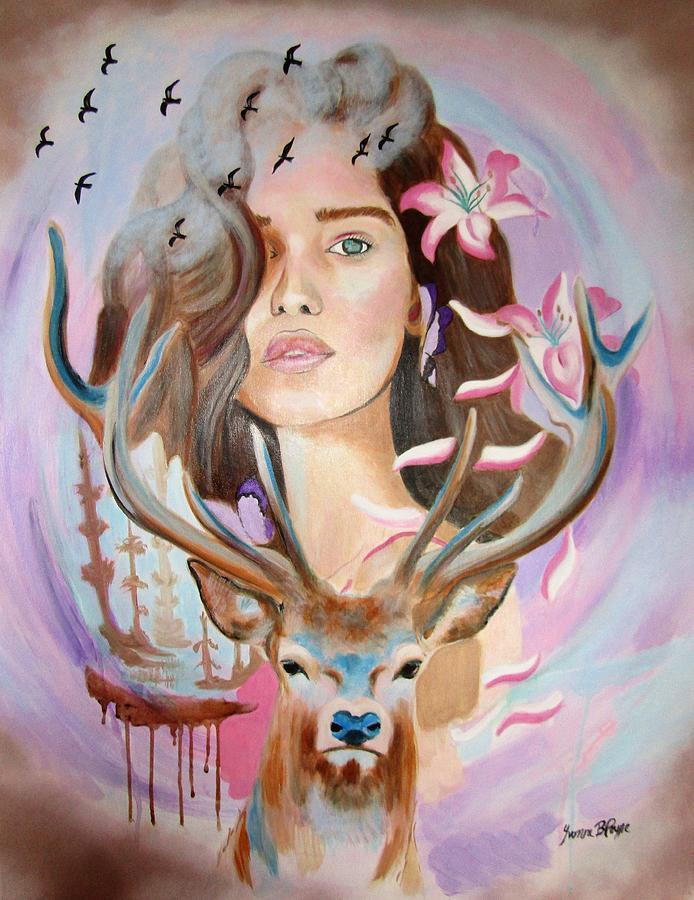 Spirit of the Dreamer by Yvonne Payne