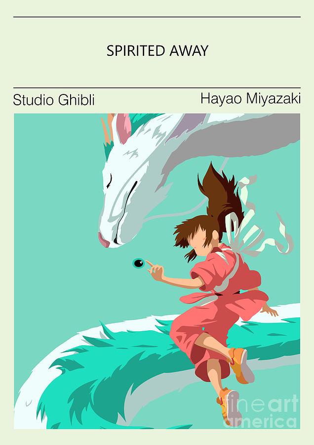 Spirited Away Poster Studio Ghibli Digital Art By Svit Artprints