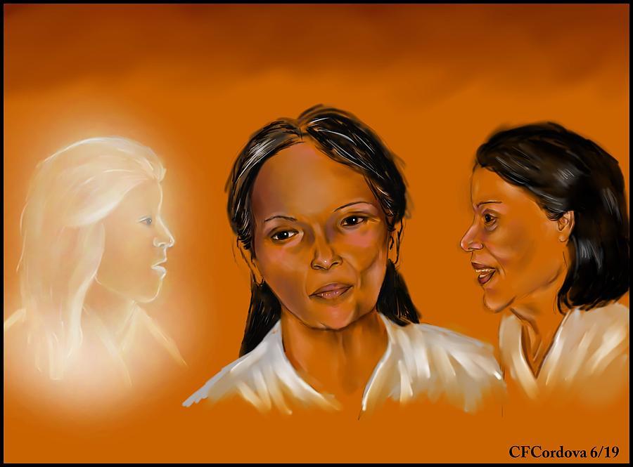 Spiritual Conflict by Carmen Cordova