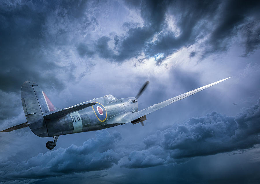Spitfire into the Storm by Philip Rispin