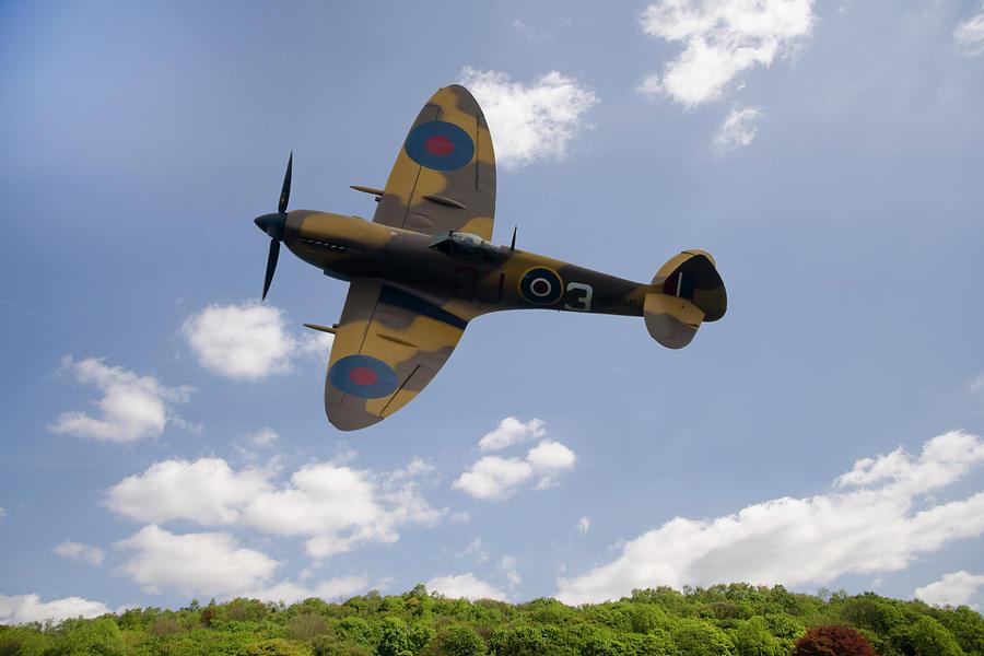Spitfire Photograph - Spitfire Mk356 by Steev Stamford