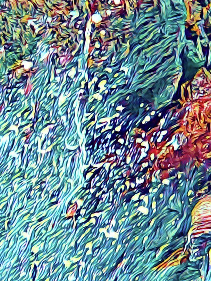 Splash of Blue Aloha by Joalene Young