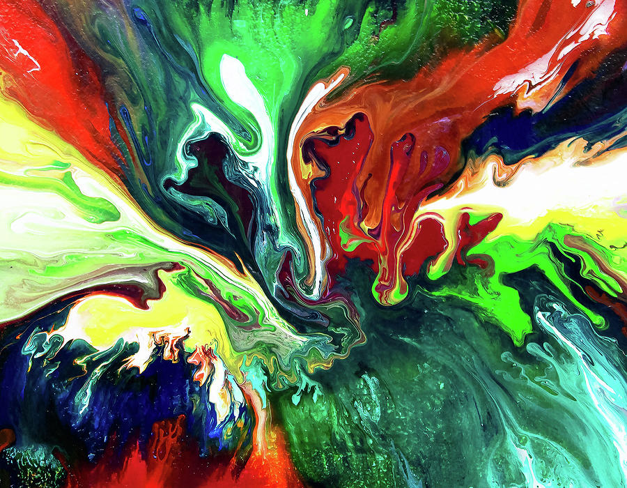 Splashes of Color by Carlene Smith
