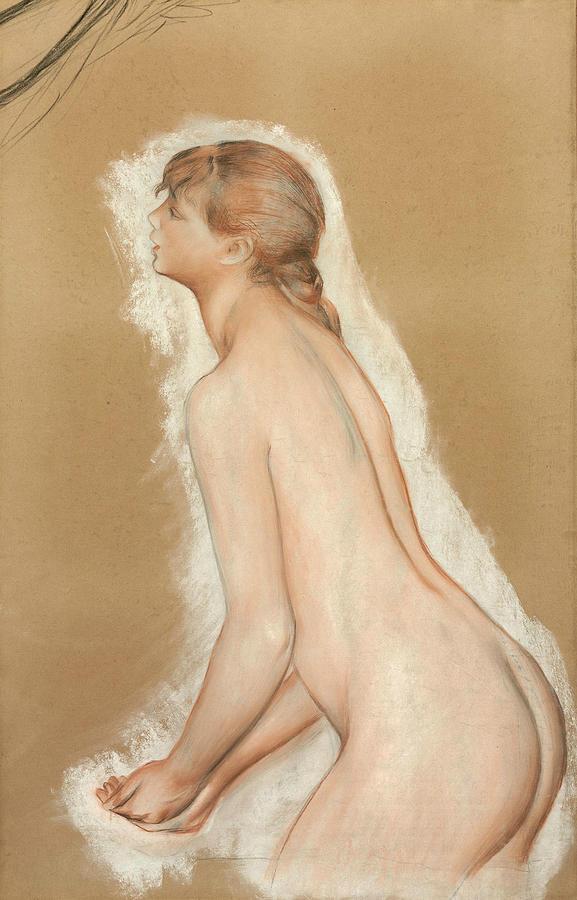 Splashing Figure by Auguste Renoir