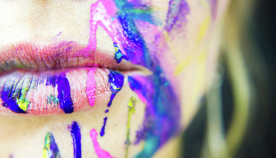 Paint Photograph - Splat by Traci Ling