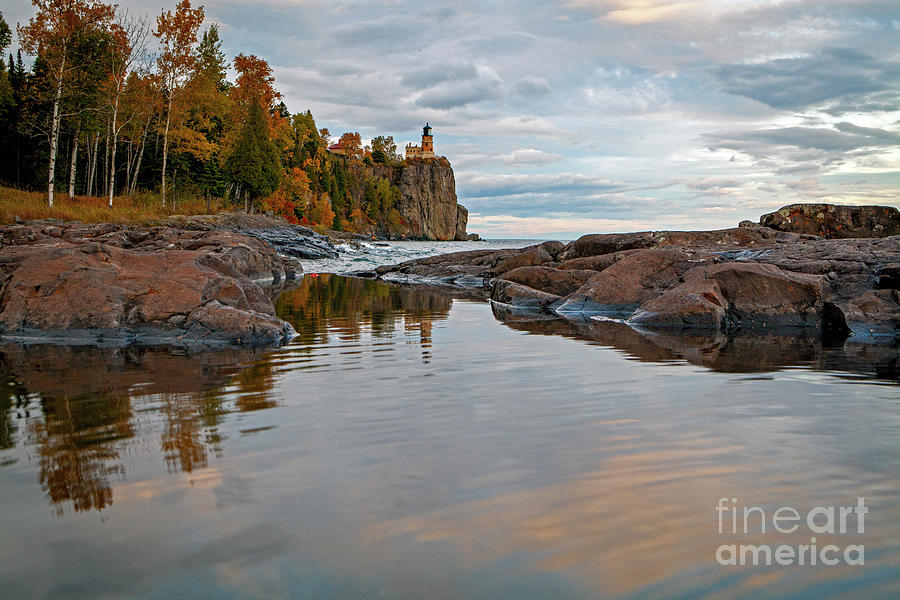 1555 Split Rock Lighthouse by Steve Sturgill