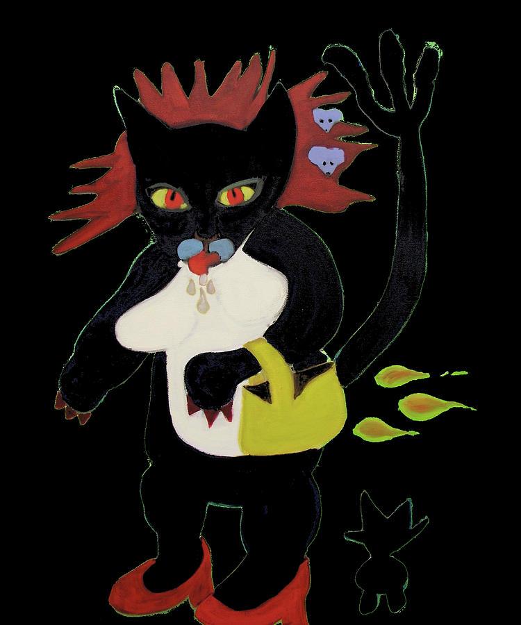 Spooky Cat by Gail Eisenfeld