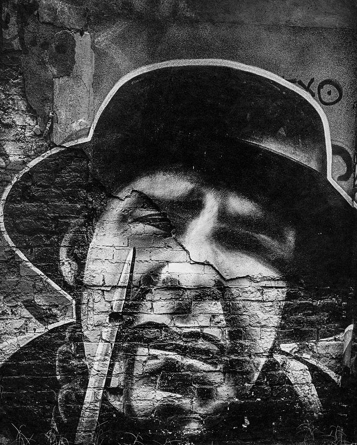 Belfast Photograph - Spooky Character by Alan Campbell