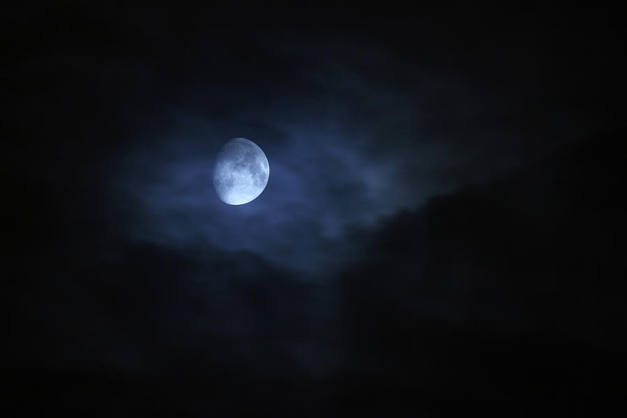 Spooky Moon Photograph by Photovideostock