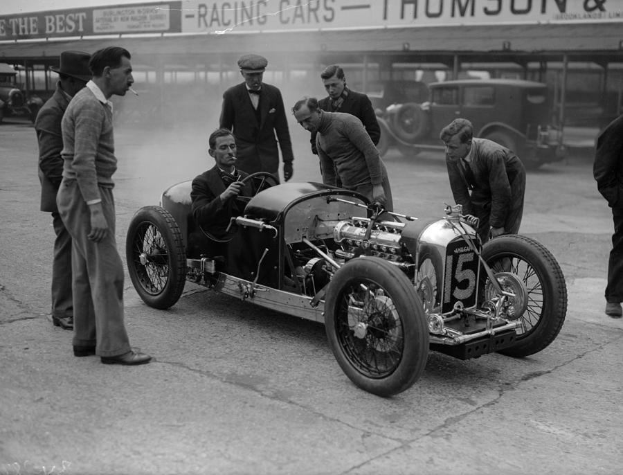 Sports Car Photograph by Fox Photos