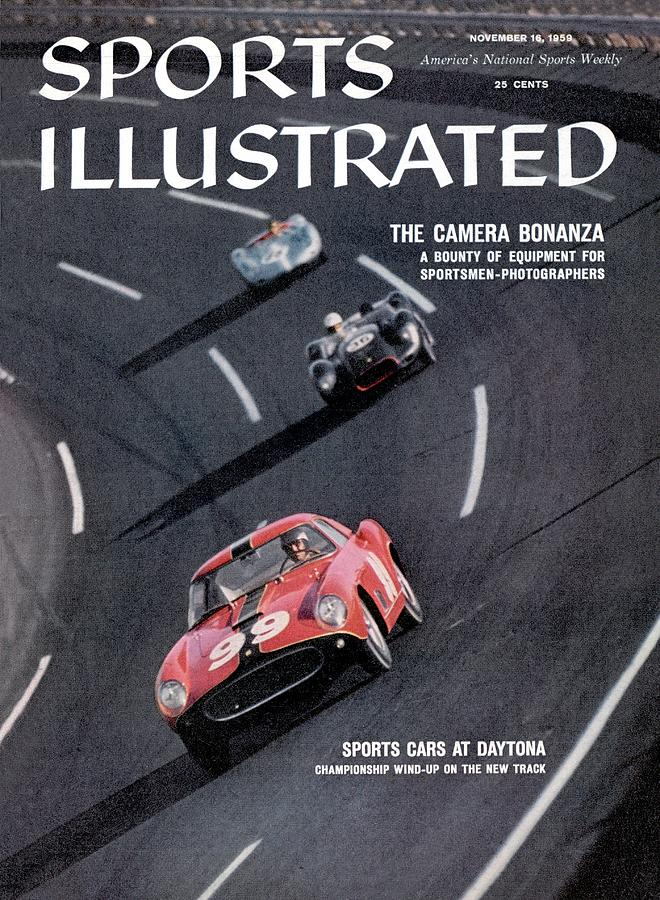 Sports Cars At Daytona Sports Illustrated Cover Photograph by Sports Illustrated