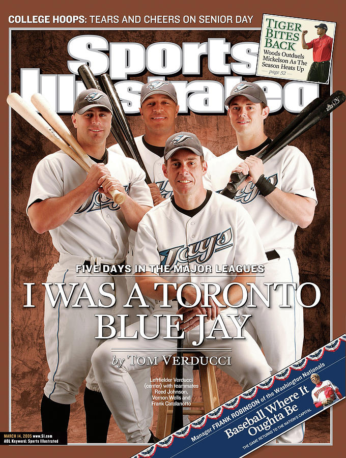 Sports Illustrated Senior Writer Tom Verducci I Was A Sports Illustrated Cover Photograph by Sports Illustrated