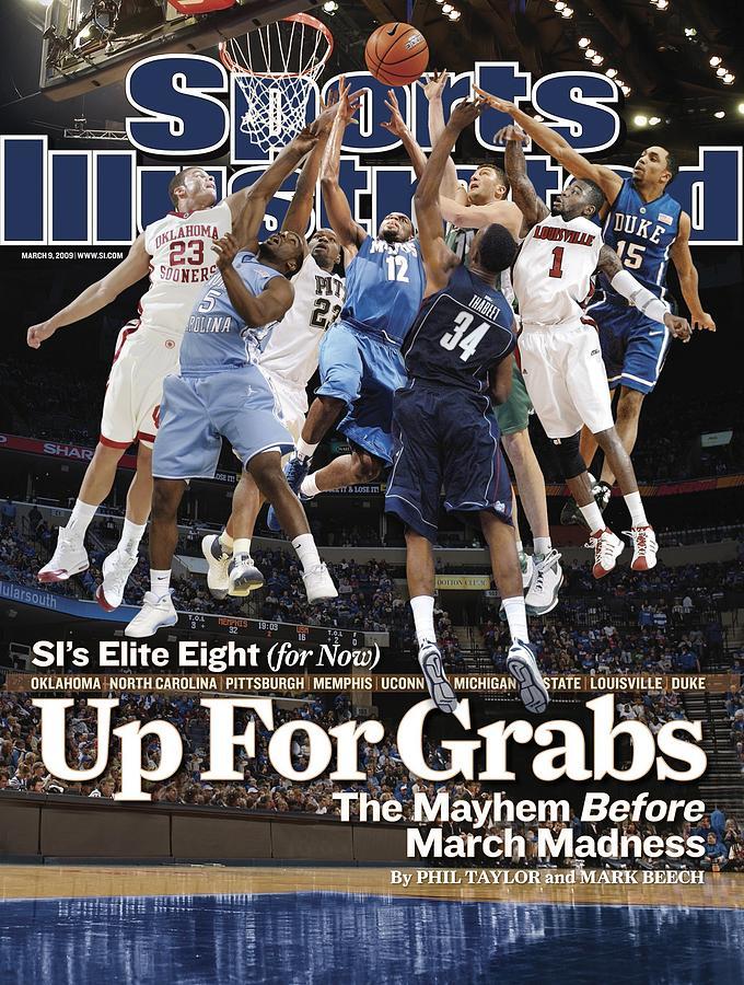 Sports Illustrateds Elite Eight Sports Illustrated Cover Photograph by Sports Illustrated