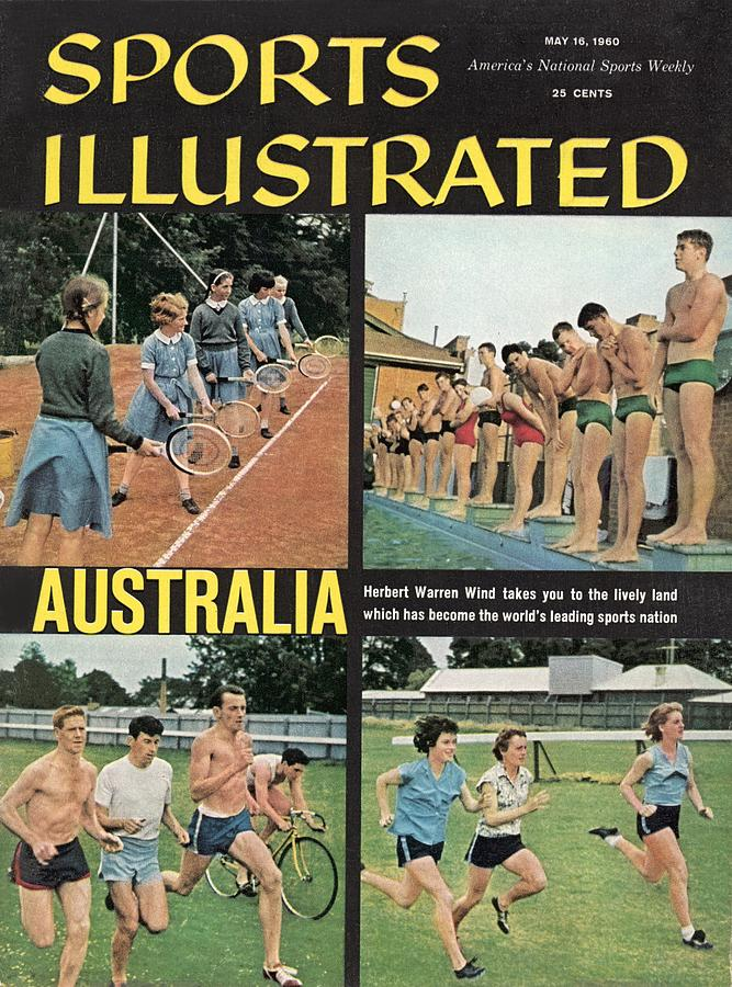 Sports In Australia Sports Illustrated Cover Photograph by Sports Illustrated