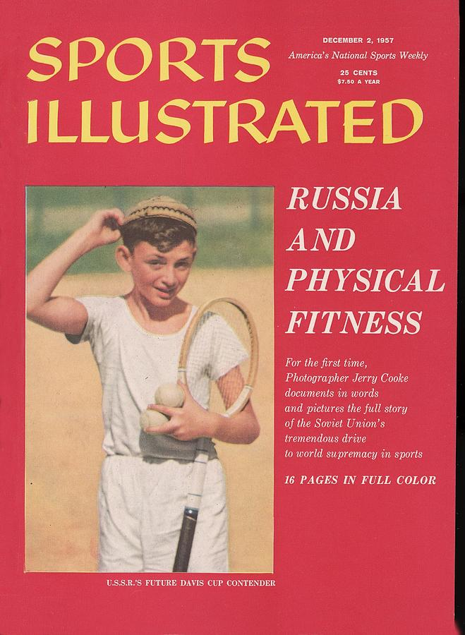 Sports In Russia Essay... Sports Illustrated Cover Photograph by Sports Illustrated
