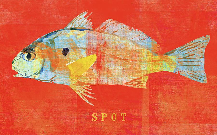 Spot Digital Art - Spot by John W. Golden