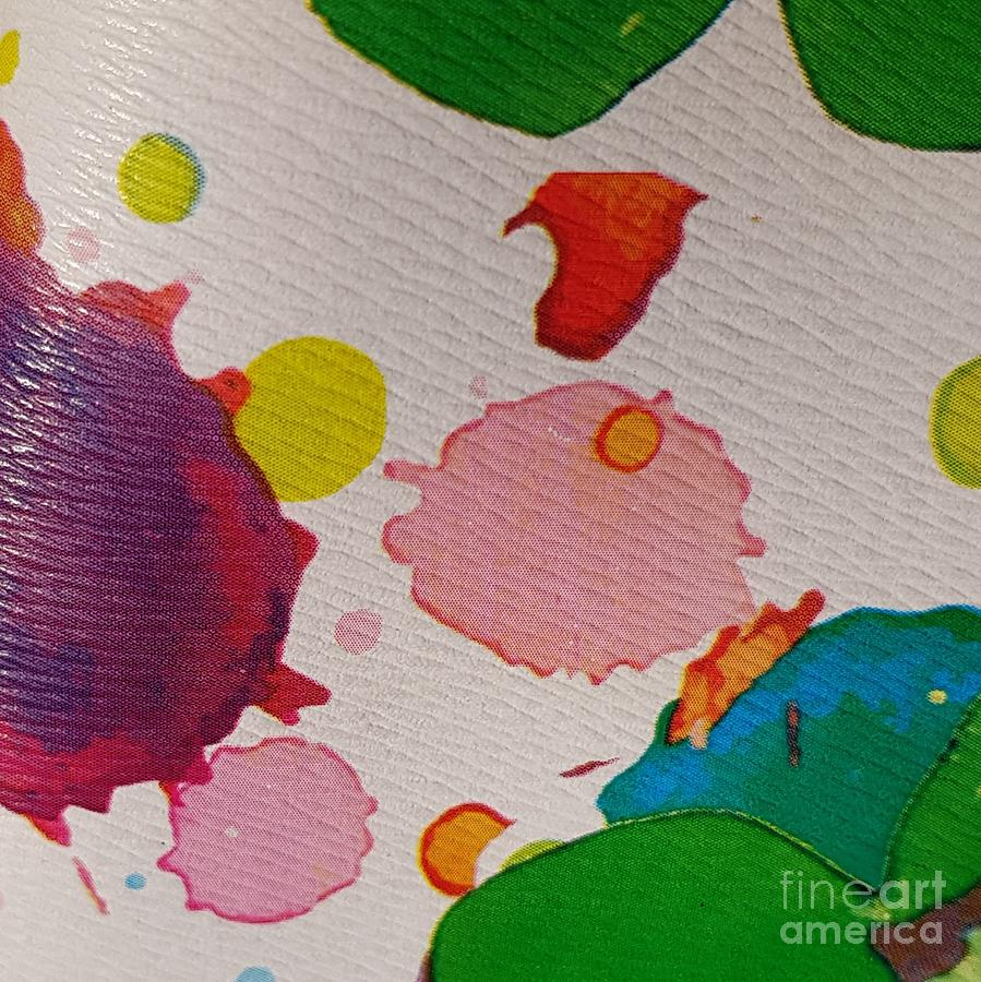 Acrylic Photograph - Spotted Surface by Paola Baroni